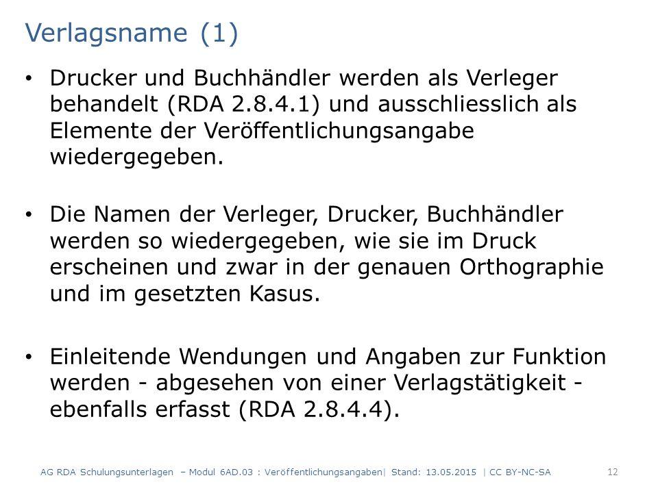 Verlagsname (1)