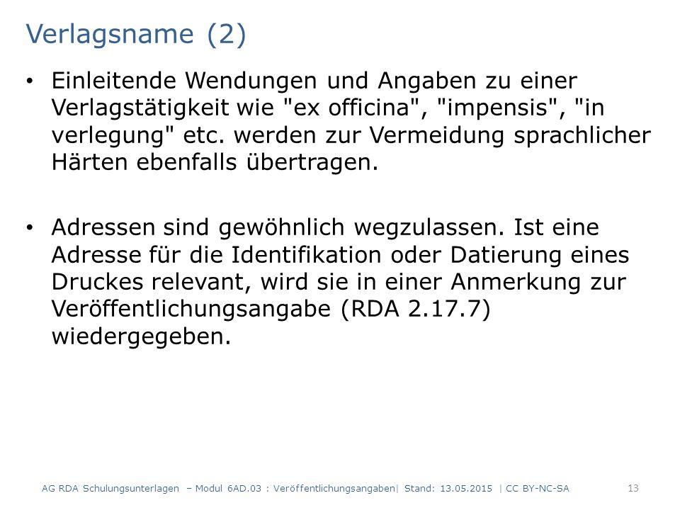 Verlagsname (2)