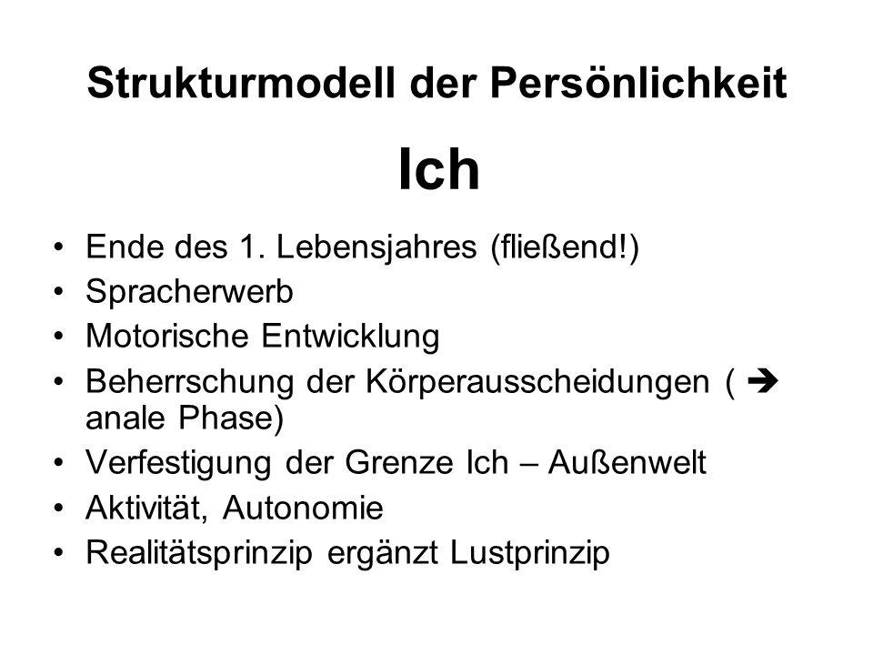 Strukturmodell der Persönlichkeit
