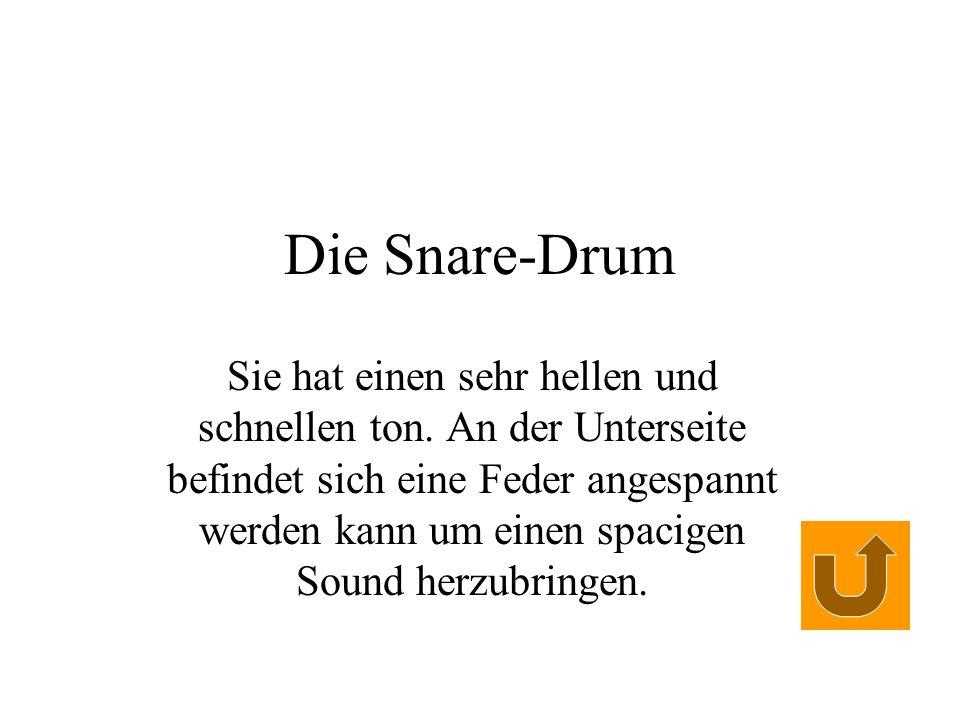 Die Snare-Drum
