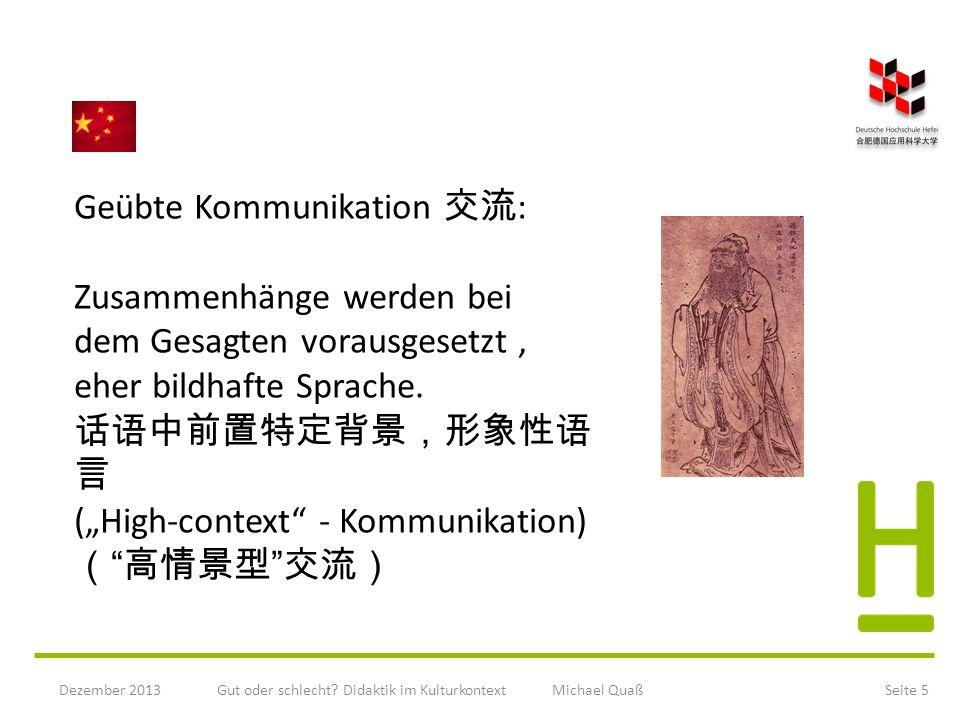 Gut oder schlecht Didaktik im Kulturkontext Michael Quaß