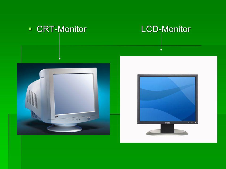 CRT-Monitor LCD-Monitor