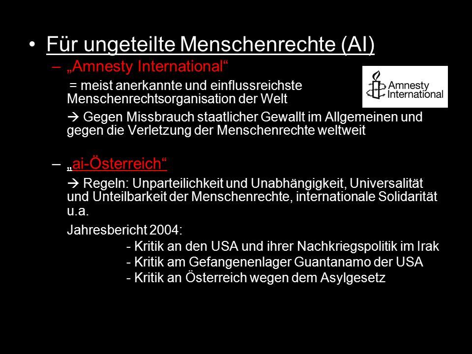 Für ungeteilte Menschenrechte (AI)