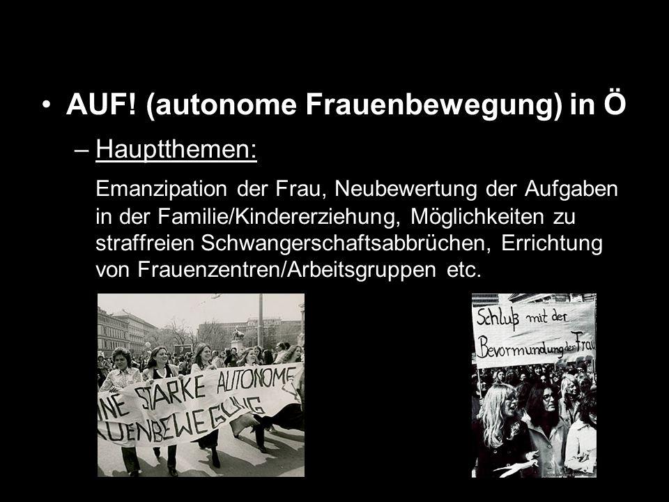 AUF! (autonome Frauenbewegung) in Ö