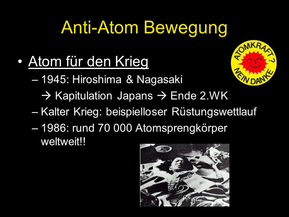 Anti-Atom Bewegung Atom für den Krieg 1945: Hiroshima & Nagasaki