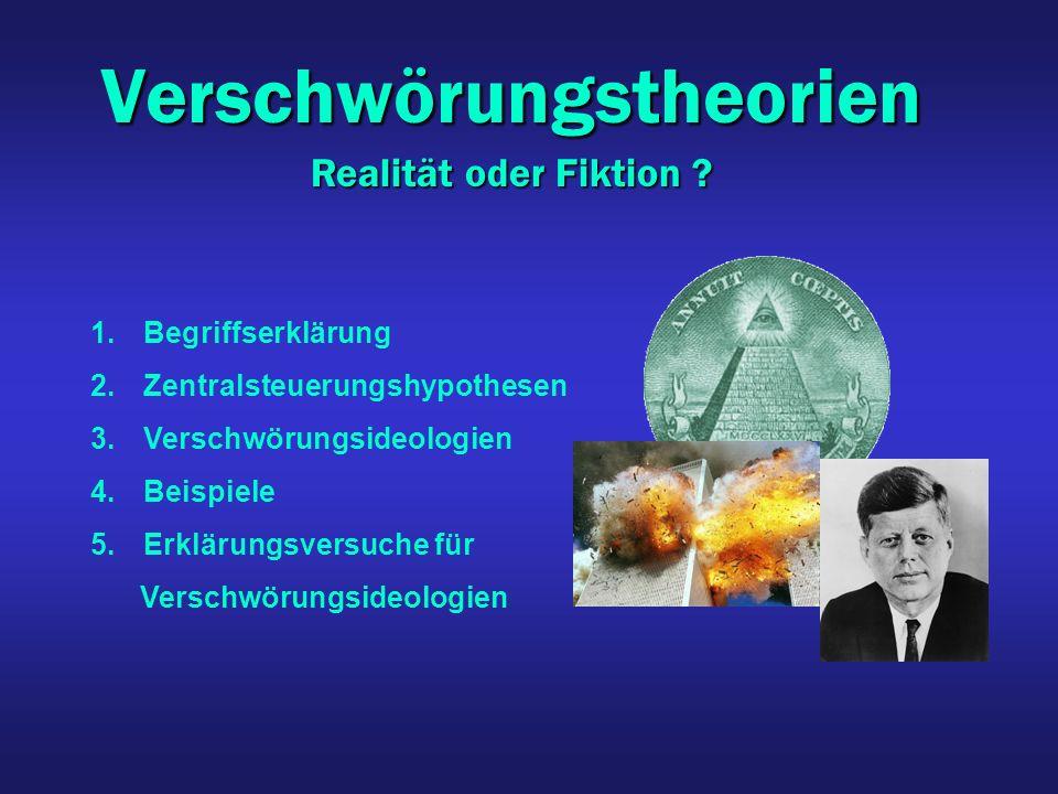 Verschwörungstheorien