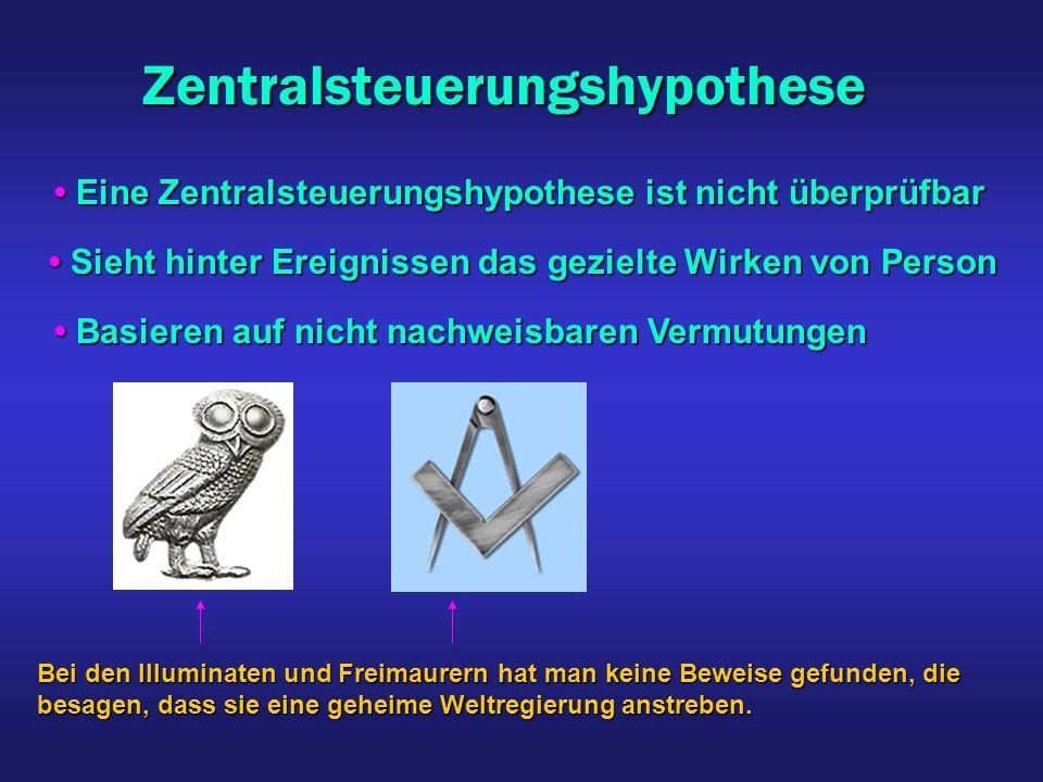 Zentralsteuerungshypothese