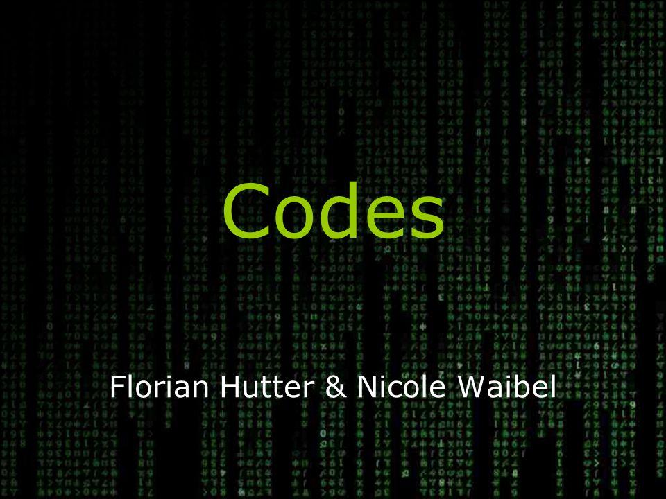 Florian Hutter & Nicole Waibel