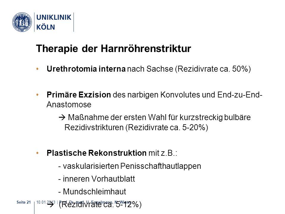 Therapie der Harnröhrenstriktur