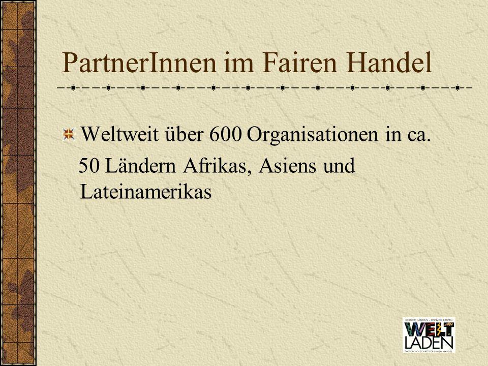 PartnerInnen im Fairen Handel