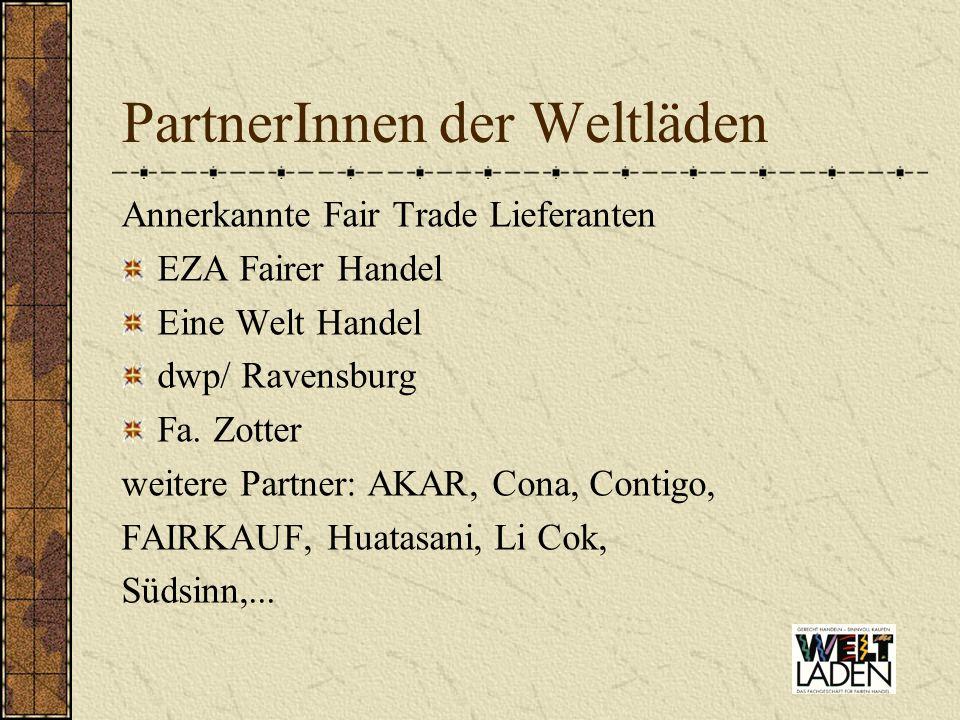 PartnerInnen der Weltläden
