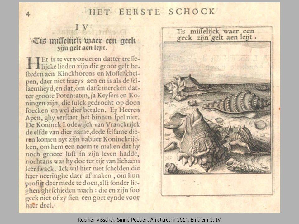 Roemer Visscher, Sinne-Poppen, Amsterdam 1614, Emblem 1, IV