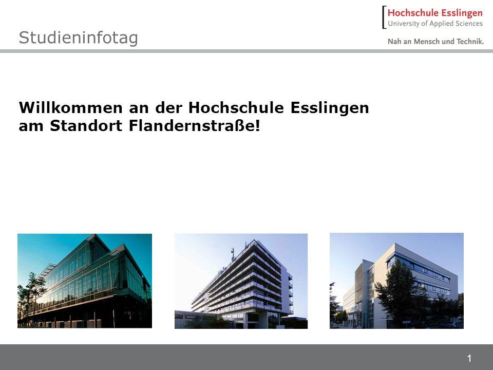 Studieninfotag Willkommen an der Hochschule Esslingen