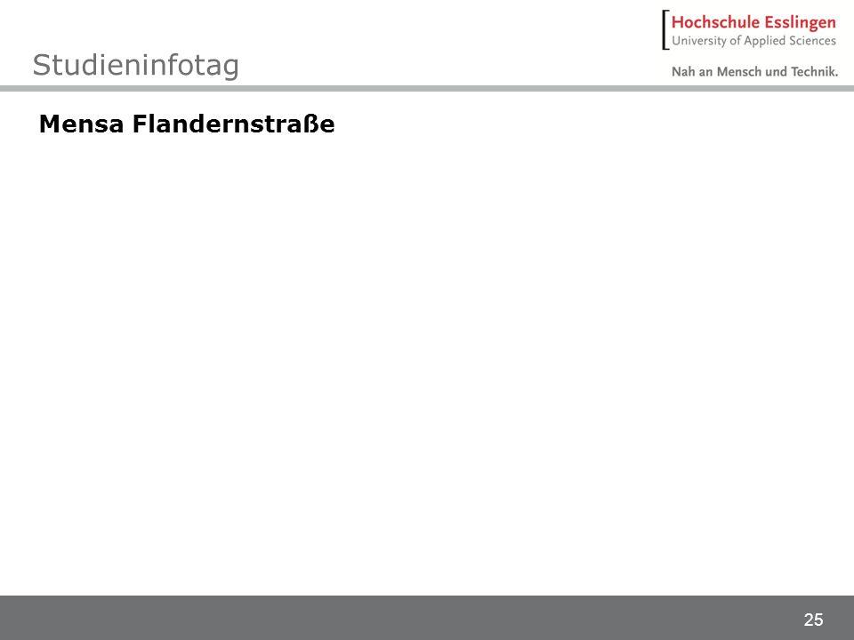 Studieninfotag Mensa Flandernstraße