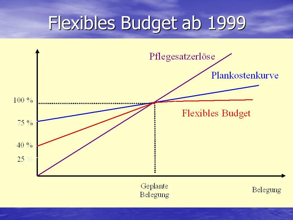 Flexibles Budget ab 1999