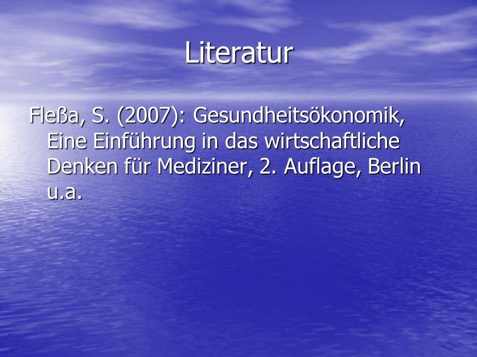Literatur Fleßa, S.