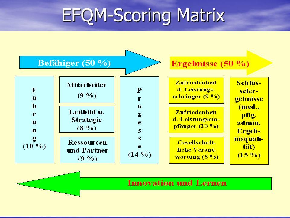 EFQM-Scoring Matrix