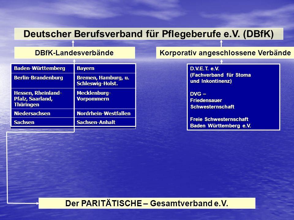 Deutscher Berufsverband für Pflegeberufe e.V. (DBfK)