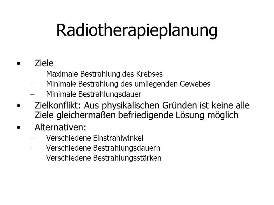 Radiotherapieplanung