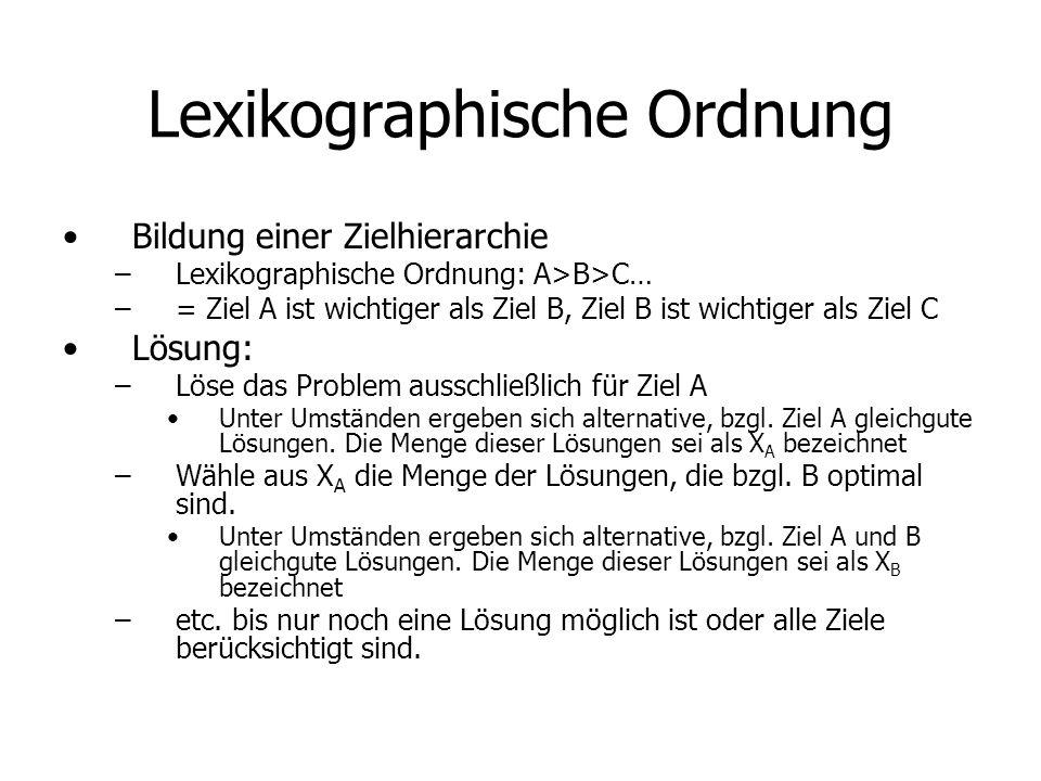 Lexikographische Ordnung