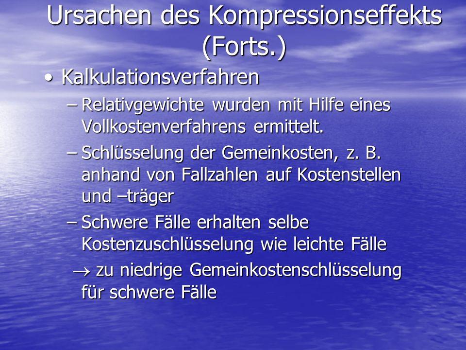 Ursachen des Kompressionseffekts (Forts.)