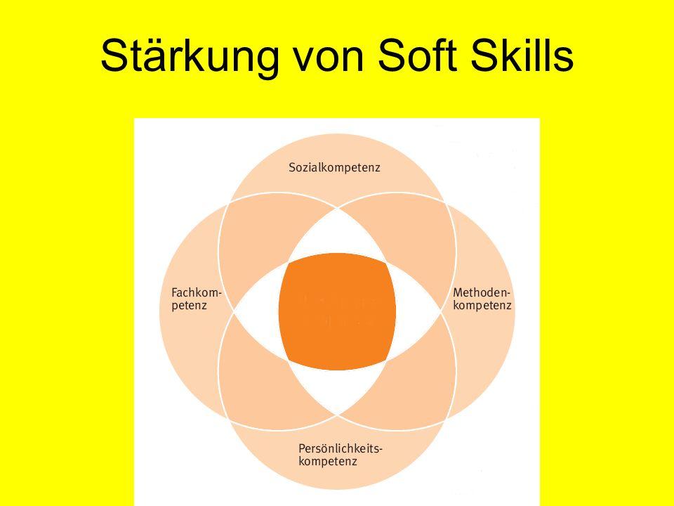 Stärkung von Soft Skills