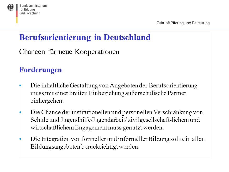 Berufsorientierung in Deutschland
