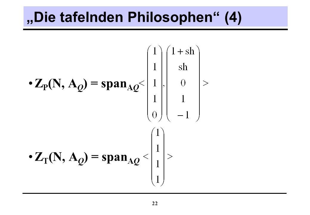 """""""Die tafelnden Philosophen (4)"""