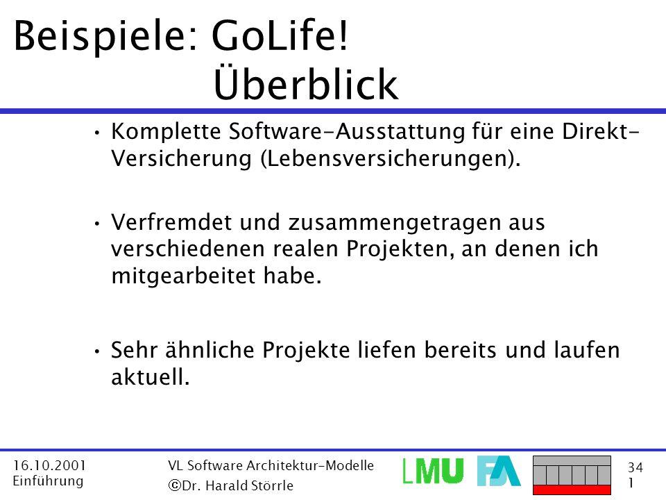 Beispiele: GoLife! Überblick