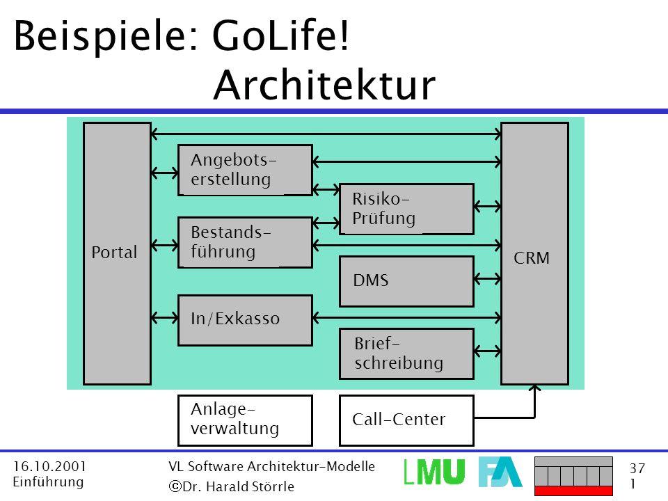Beispiele: GoLife! Architektur