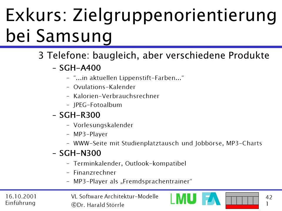 Exkurs: Zielgruppenorientierung bei Samsung
