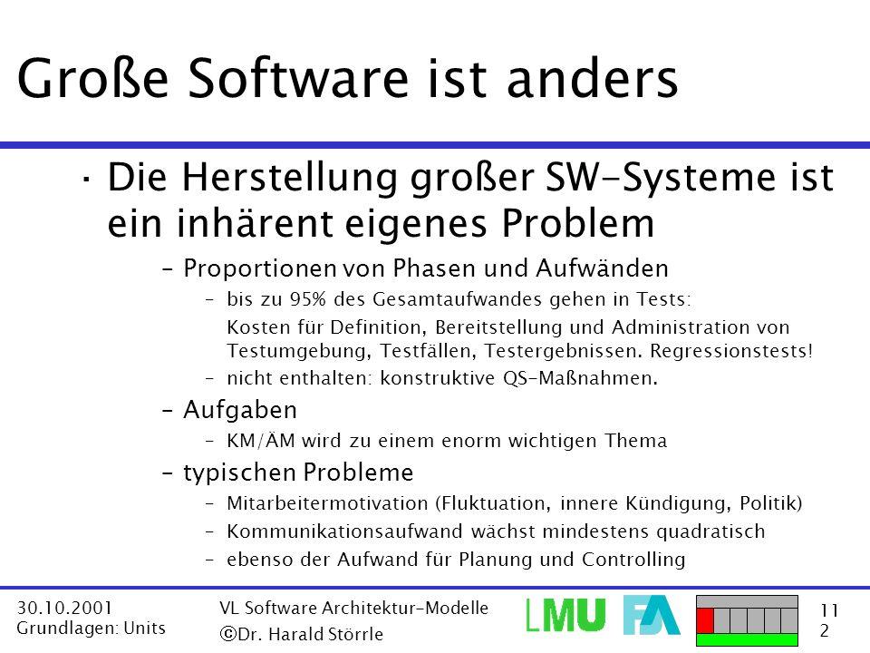Große Software ist anders