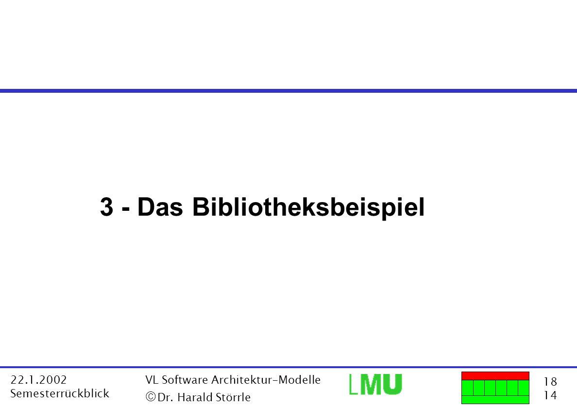 3 - Das Bibliotheksbeispiel