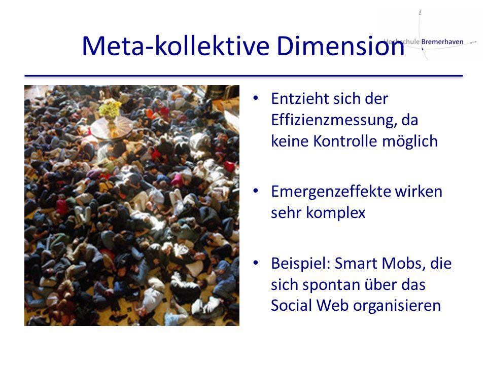 Meta-kollektive Dimension