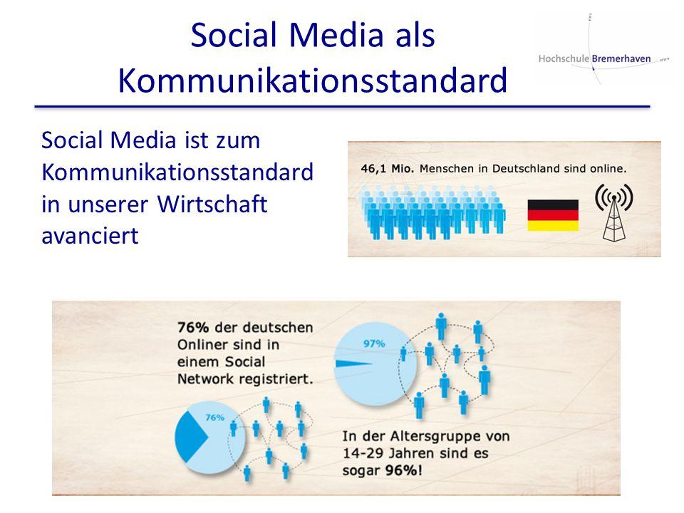 Social Media als Kommunikationsstandard
