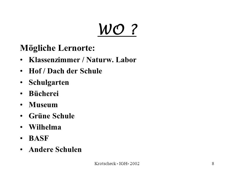 Autorin Präsentat.:F.Krotscheck