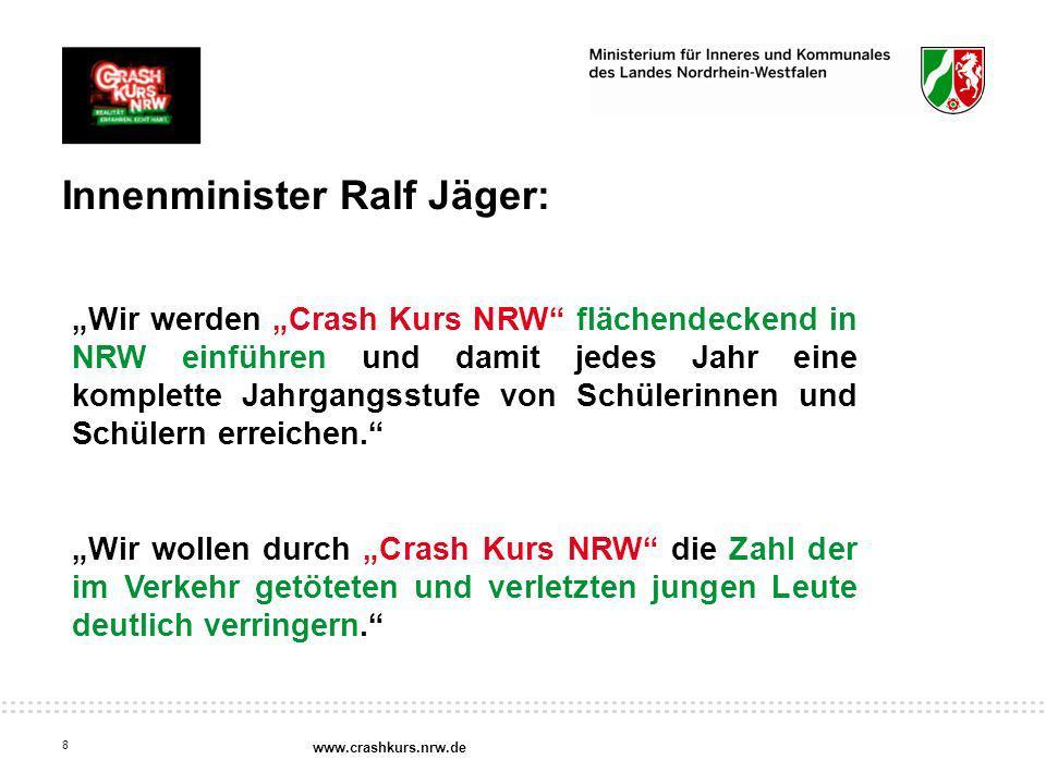 Innenminister Ralf Jäger: