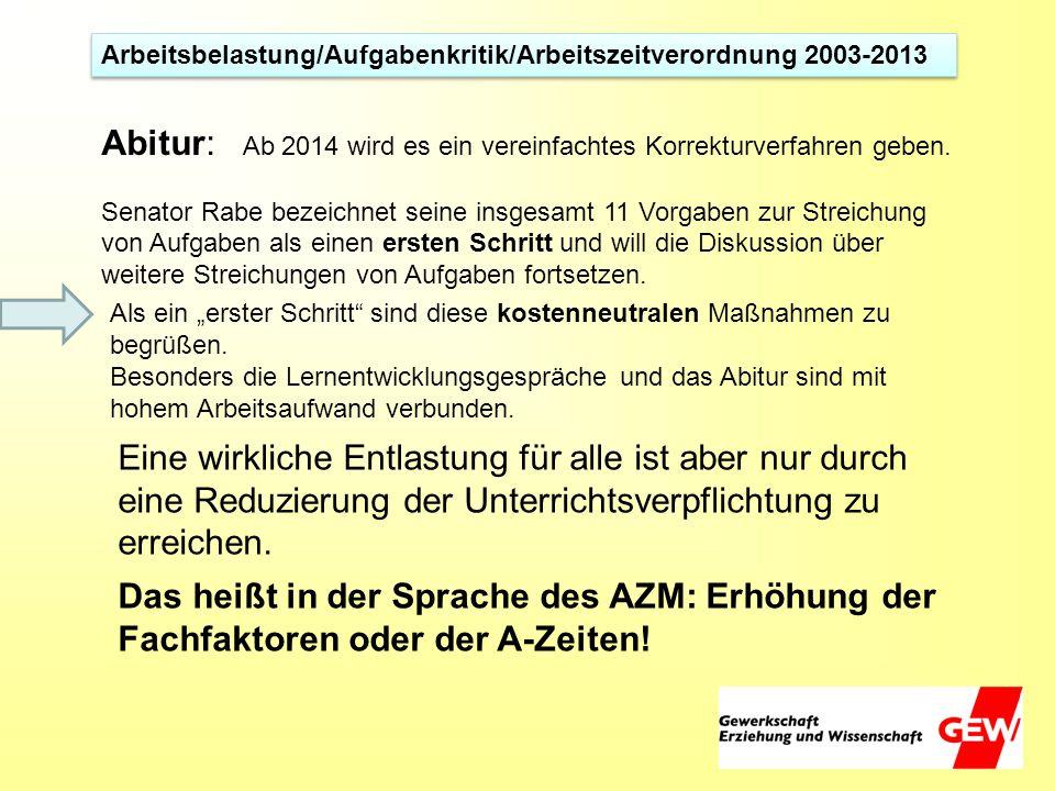 Abitur: Ab 2014 wird es ein vereinfachtes Korrekturverfahren geben.