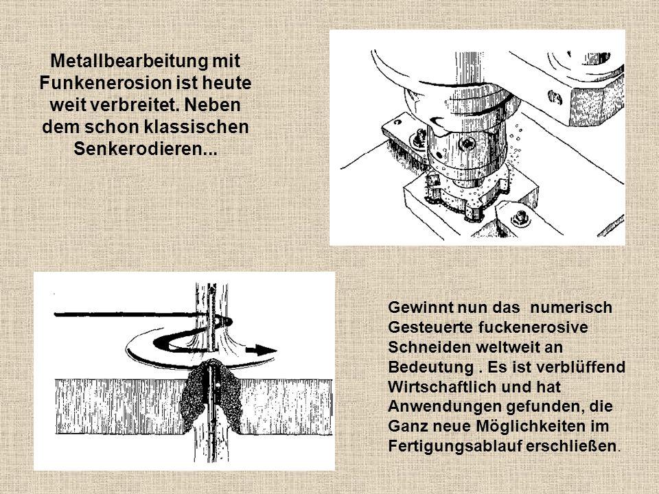 Metallbearbeitung mit Funkenerosion ist heute