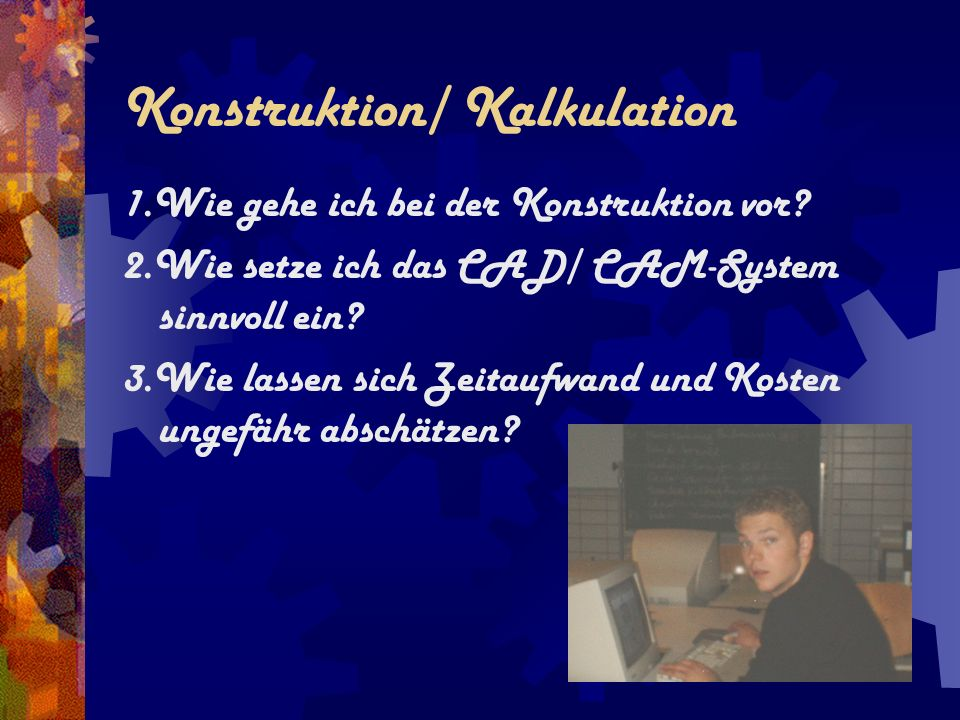 Konstruktion/ Kalkulation