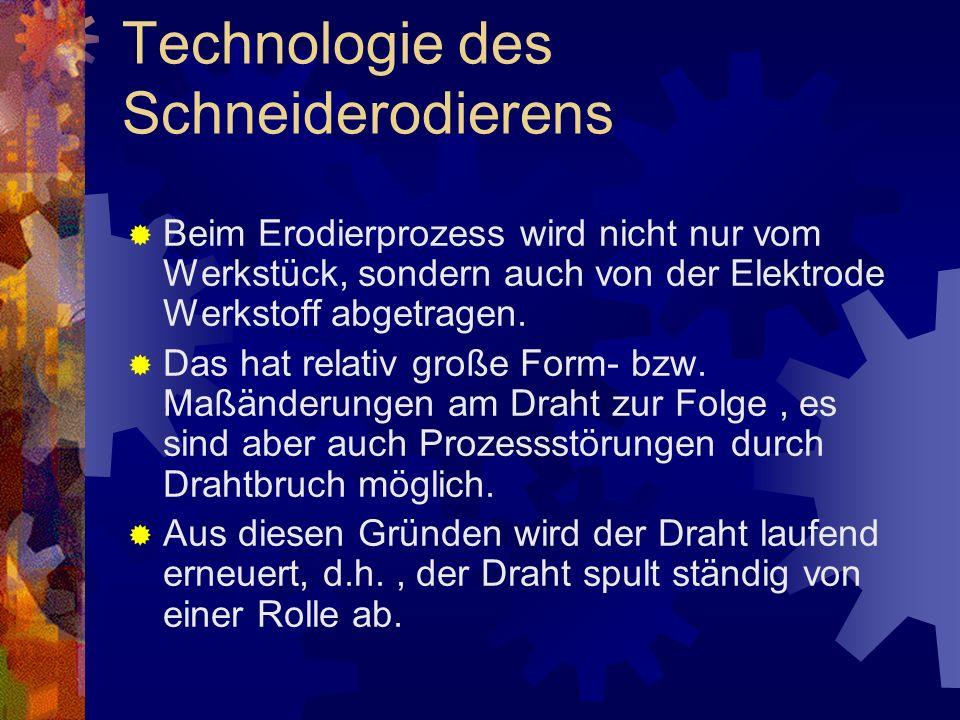 Technologie des Schneiderodierens