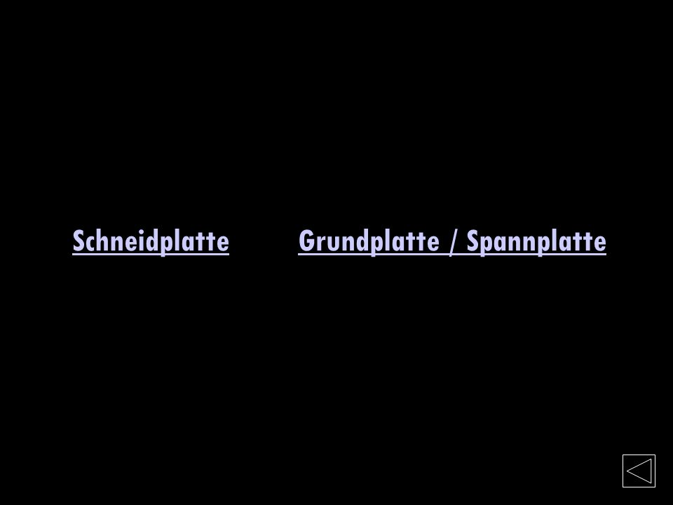Schneidplatte Grundplatte / Spannplatte