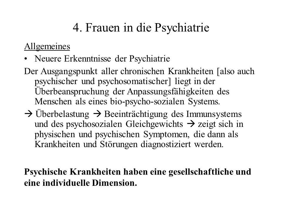 4. Frauen in die Psychiatrie