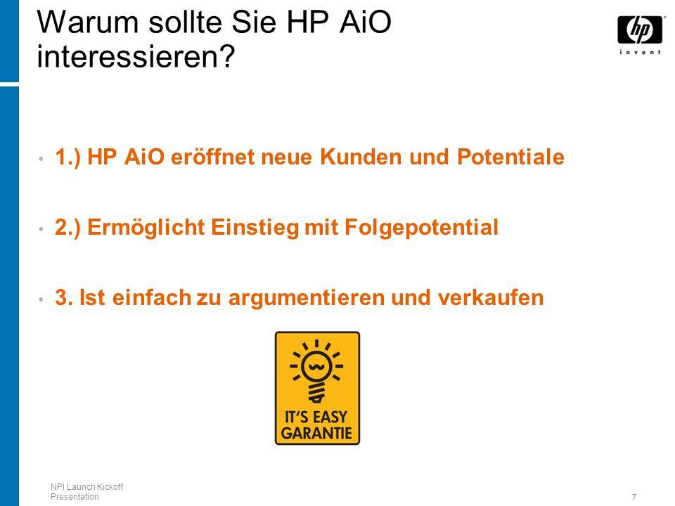 Warum sollte Sie HP AiO interessieren