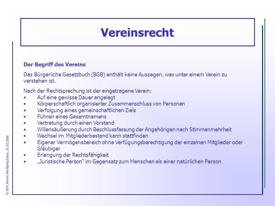 © SGV, Benno Wolfgang Ecker, 31.03.2006