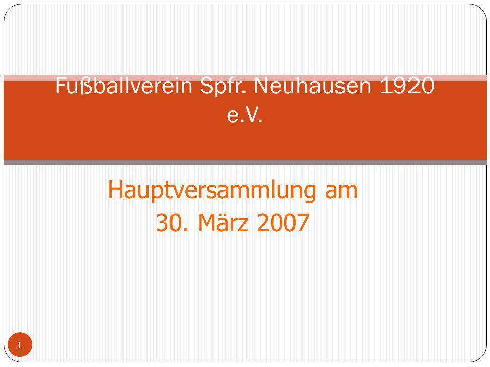 Fußballverein Spfr. Neuhausen 1920 e.V.