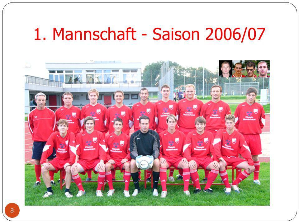 1. Mannschaft - Saison 2006/07