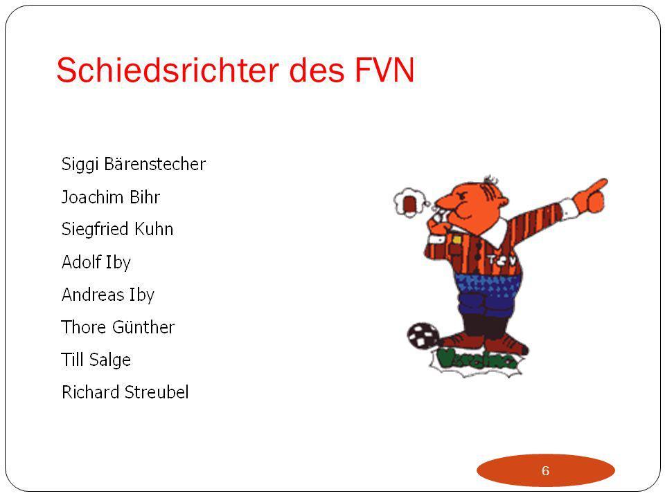 Schiedsrichter des FVN
