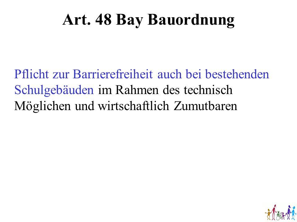 Art. 48 Bay Bauordnung
