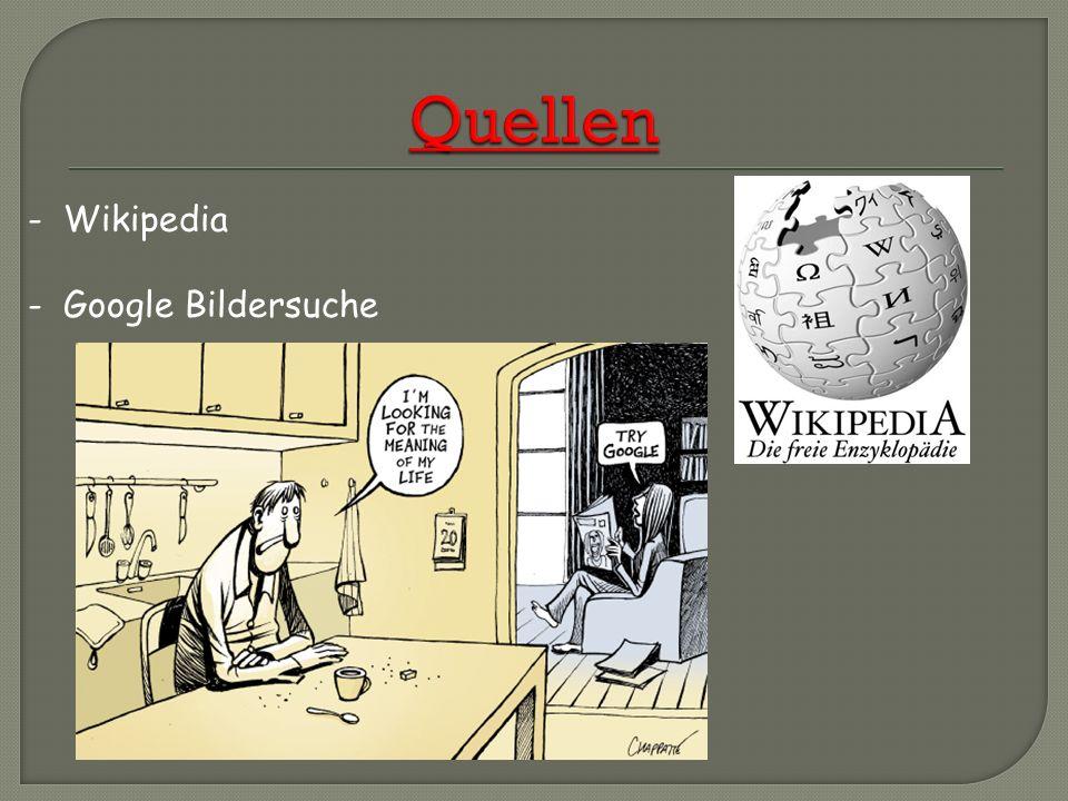 Quellen - Wikipedia - Google Bildersuche